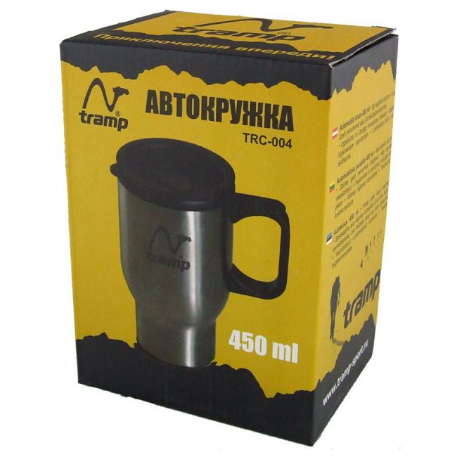 Фото Автокружка Tramp TRC-004 (0,45л), стальная купить в Украине по недорогой цене для рыбалки