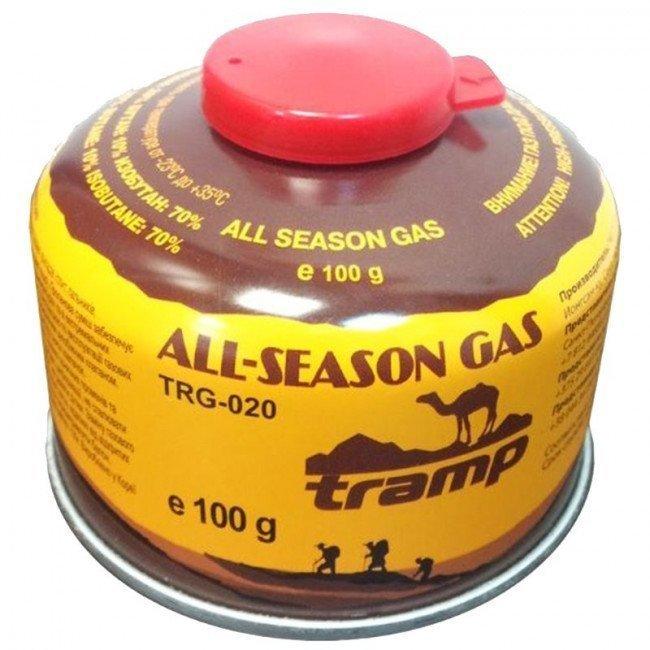 Фото Баллон газовый Tramp TRG-020 (100гр), всесезонный купить в Украине по недорогой цене для рыбалки