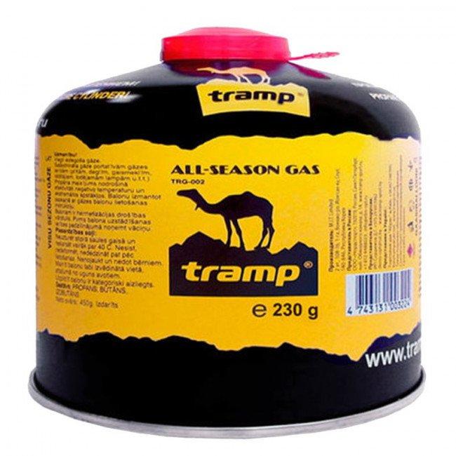 Фото Баллон газовый Tramp TRG-020 (230гр), всесезонный купить в Украине по недорогой цене для рыбалки