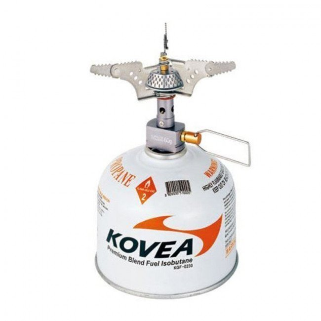 Фото Горелка газовая туристическая Kovea Supalite Titanium KB-0707 купить в Украине по недорогой цене для рыбалки