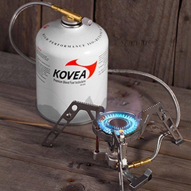 Фото Горелка газовая туристическая выносная Kovea Moonwalker - S KB-0211G-S купить в Украине по недорогой цене для рыбалки