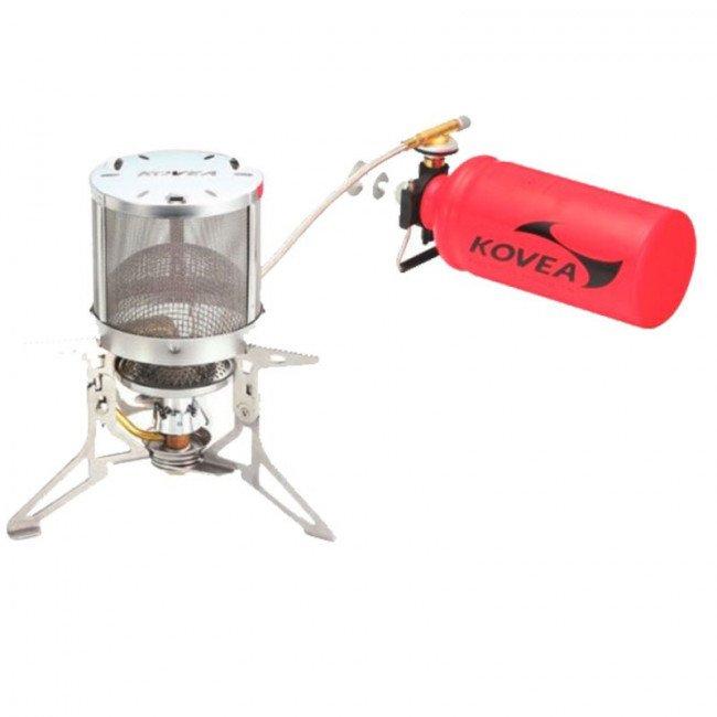 Фото Горелка мультитопливная туристическая Kovea Booster DUAL MAX KB-N0810 купить в Украине по недорогой цене для рыбалки