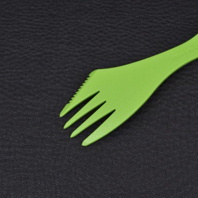 Фото 3 в 1 - ложка + вилка + нож LIGHT MY FIRE Spork, зеленая купить в Украине по недорогой цене для рыбалки