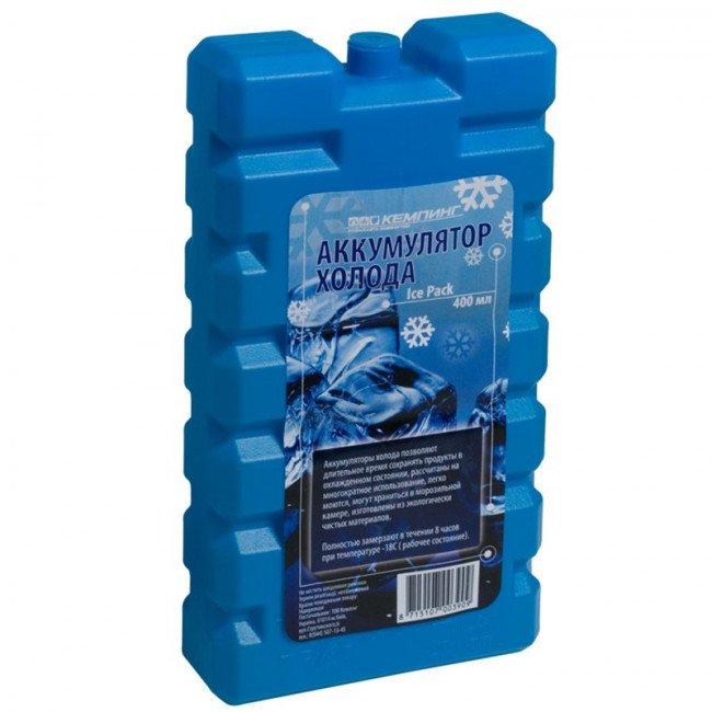 Фото Аккумулятор холода КЕМПІНГ IcePack (0.4кг) купить в Украине по недорогой цене для рыбалки