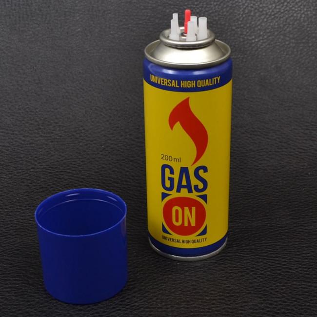 Фото Газ для заправки зажигалок Gas On (200мл) купить в Украине по недорогой цене для рыбалки