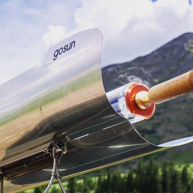 Фото Гриль с солнечной панелью Gosun Sport Pro Pack (61х30х41см, 1.2л, 2 поддона), с сумкой купить в Украине по недорогой цене для рыбалки