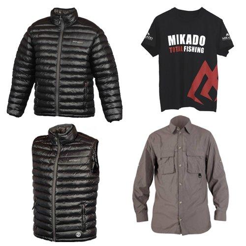 Куртки, жилеты, футболки