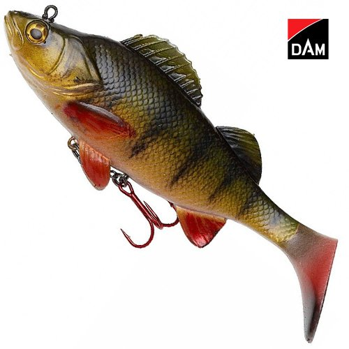 Natural Perch Paddle Tail