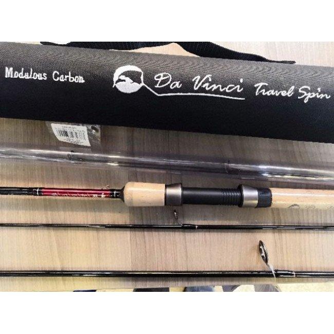Фото Спиннинг Mikado Da Vinci Travel Spin 240 (5/15-20/25г) купить в Украине по недорогой цене для рыбалки