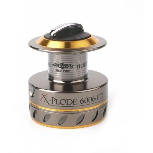 Фидерные и карповые катушки | Катушка Mikado X-PLODE II 6006 FD-SS-CNC | Характеристики | Отзывы | Описание