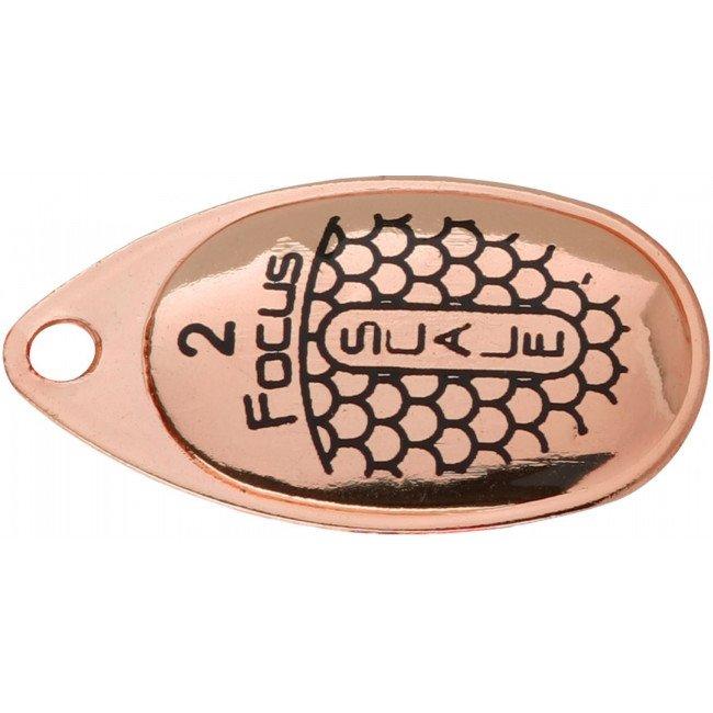 Фото Блесна вращающаяся Mikado FOCUS Copper-25 3 г купить в Украине по недорогой цене для рыбалки