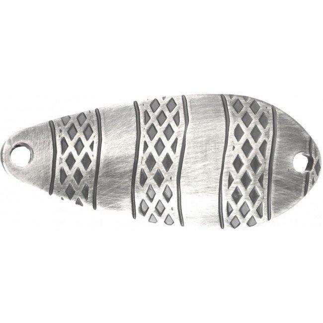 Фото Блесна колеблющаяся Mikado STRIPE Old Silver 8 г купить в Украине по недорогой цене для рыбалки