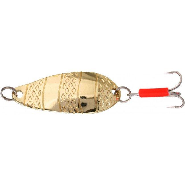 Фото Блесна колеблющаяся Mikado STRIPE Gold 22 г купить в Украине по недорогой цене для рыбалки