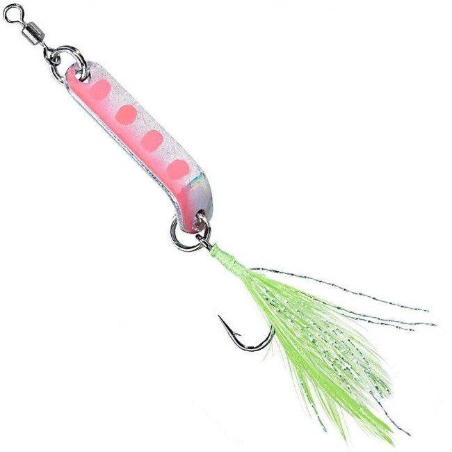 Фото Блесна-колебалка Balzer Aggressor Trout spoon Pink 2,5 г купить в Украине по недорогой цене для рыбалки