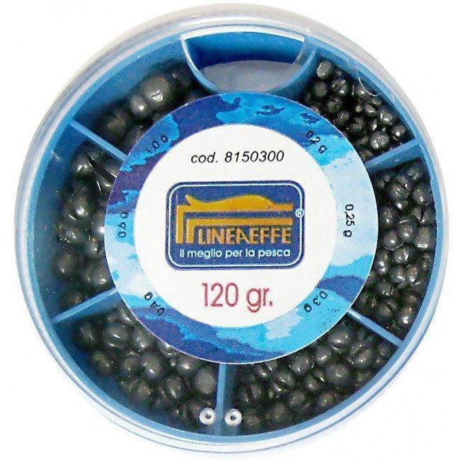 Фото Грузки дробь Lineaeffe Soft Lead Split Shots набор 120гр. купить в Украине по недорогой цене для рыбалки