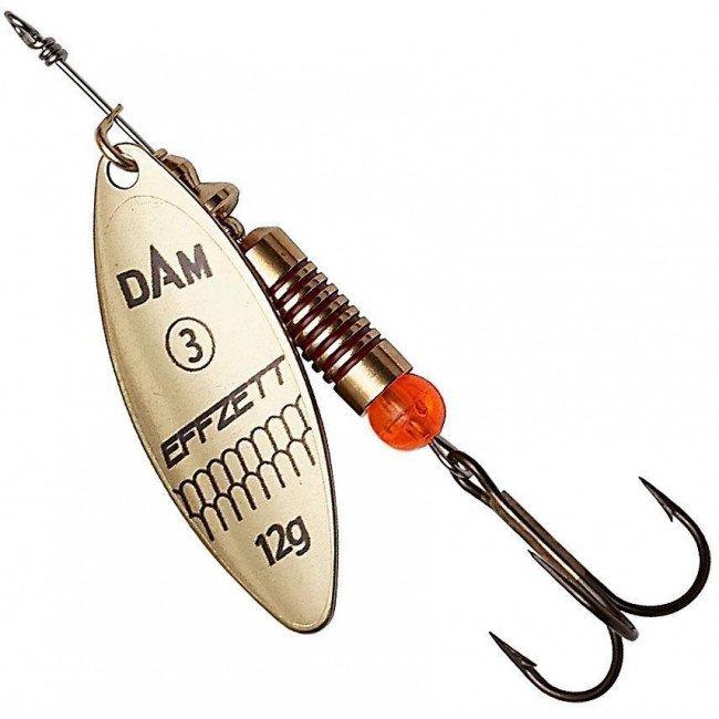 Фото Блесна-вертушка DAM Effzett Predator Gold 3 г купить в Украине по недорогой цене для рыбалки
