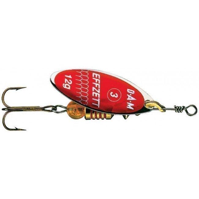 Фото Блесна-вертушка DAM Effzett Predator Red 7 г купить в Украине по недорогой цене для рыбалки