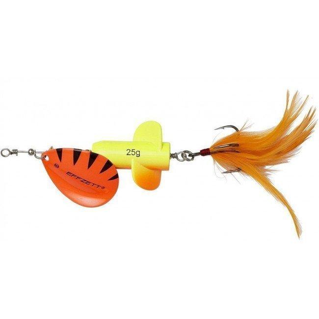 Фото Блесна-вертушка DAM Effzett Rattlin Spinner Yellow/Orange 18 г купить в Украине по недорогой цене для рыбалки