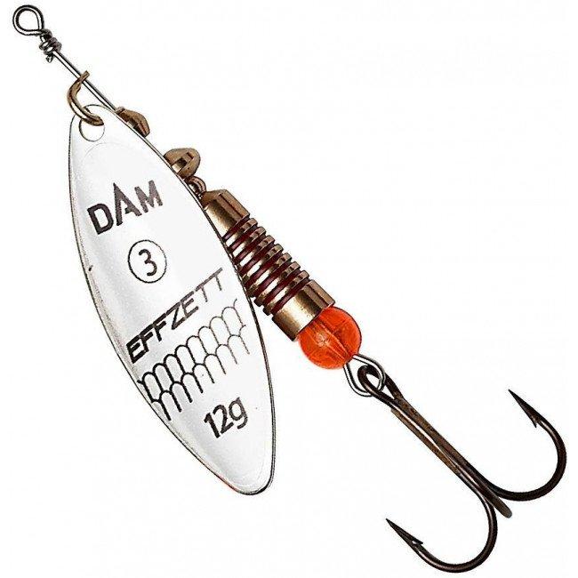 Фото Блесна-вертушка DAM Effzett Predator Silver 3 г купить в Украине по недорогой цене для рыбалки
