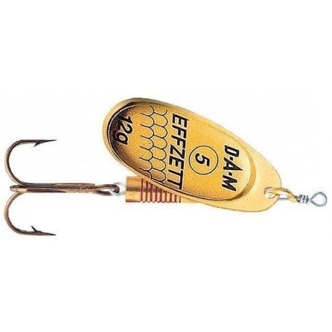 Фото Блесна-вертушка DAM Effzett Standart Gold 12 г купить в Украине по недорогой цене для рыбалки