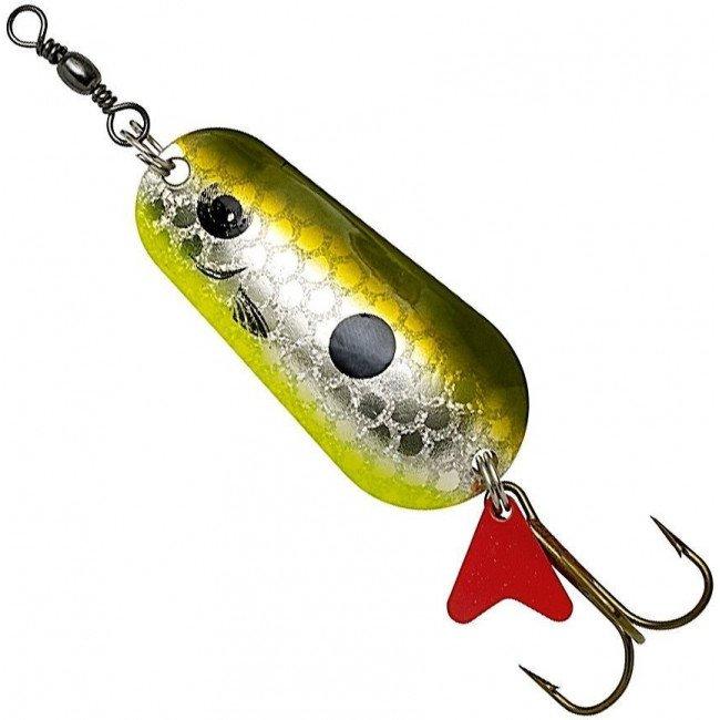 Фото Блесна-колебалка DAM Effzett Standart Olive Silver 45 г купить в Украине по недорогой цене для рыбалки