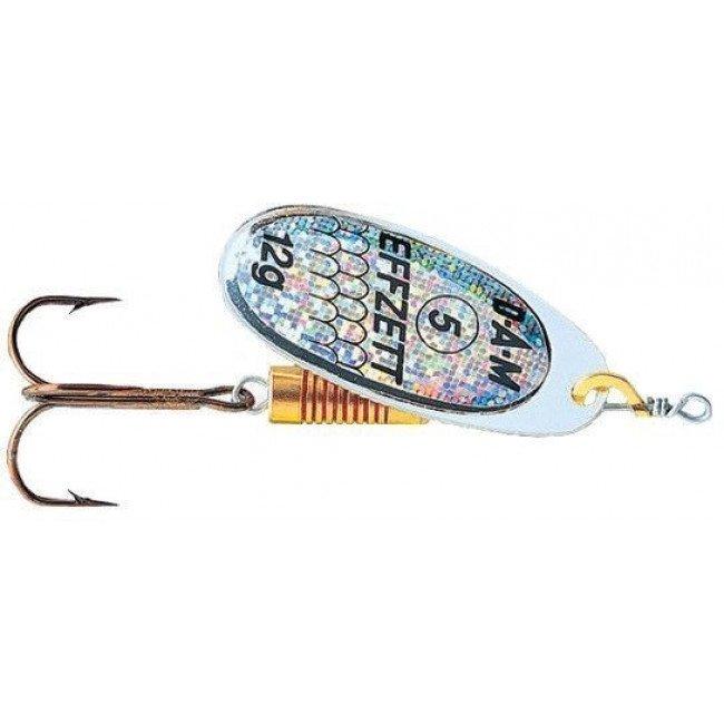 Фото Блесна-вертушка DAM Effzett Standart Silver Reflectors 10 г купить в Украине по недорогой цене для рыбалки