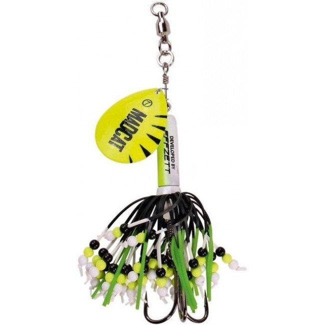 Фото Блесна-вертушка на сома DAM MADCAT Rattlin Teaser Yellow 85 г купить в Украине по недорогой цене для рыбалки