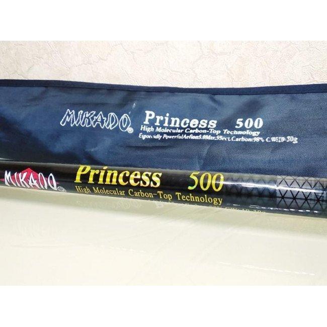 Фото Удочка с кольцами Mikado Princess 400 (10-30г) карбон купить в Украине по недорогой цене для рыбалки