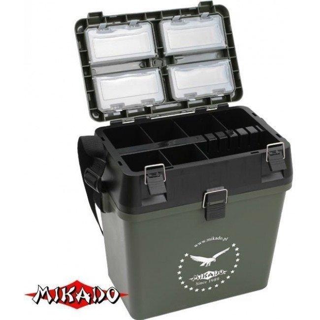 Зимние ящики   Зимний рыболовный ящик Mikado   Характеристики   Отзывы   Описание