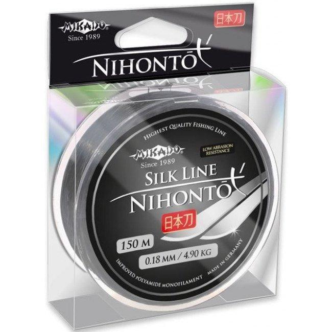 Фото Леска Mikado NIHONTO SILK LINE 150 м купить в Украине по недорогой цене для рыбалки
