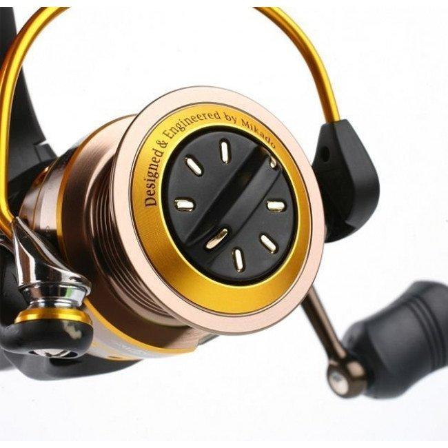 Фото Катушка Mikado GOLDEN EYE 4007 FD купить в Украине по недорогой цене для рыбалки