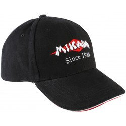 Бейсболка Mikado черная  UM-UB018