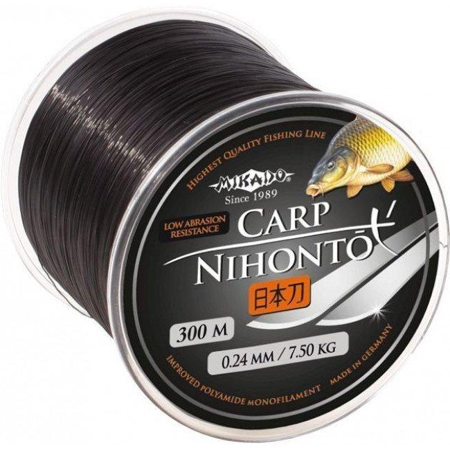 Фото Леска карповая Mikado NIHONTO CARP 600 м купить в Украине по недорогой цене для рыбалки