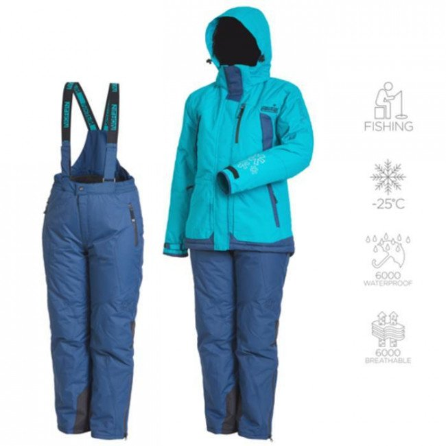 Фото Kостюм зимний Norfin Women Snowflake 2 00 р.XS (532000-XS) купить в Украине по недорогой цене для рыбалки